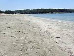 Het strand bij de Baai van Odysseus, Griekenland