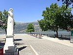 Borstbeeld van  Lorenzo Mavilis in Ioannina, Griekenland