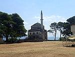 De Fetiche moskee in de citadel van Ioannina, Griekenland