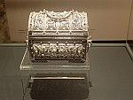Juwelenkistje in het zilvermuseum in Ioannina, Griekenland