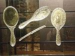 Lepeltjes in het zilvermuseum in Ioannina, Griekenland