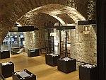 Expositie in het zilvermuseum in Ioannina, Griekenland