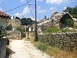 In de citadel van Ioannina, Griekenland