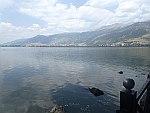 Berglandschap rond het Pamvotis meer bij Ioannina, Griekenland