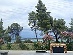 Langs de oostkust van Sithonia, Griekenland