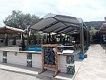 Restaurant op Sithonia, Griekenland