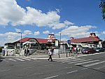 Overdekte markt Zeleni Venac in Belgrado, Servie