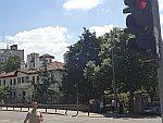 De ingang van het Kalemegdan park, Belgrado, Servie