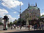 Het Moskou hotel in Belgrado, Servie