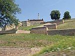 Pobednik standbeeld in het oude fort in Belgrado, Servie