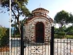 Kapel in Nea Kallikrateia, Griekenland