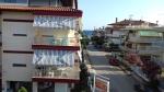 Uitzicht op zee, Paralia Dionysiou, Griekenland
