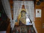 Icoon in de St. Nicholas kerk, Kallithea, Griekenland