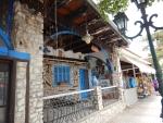 Winkeltjes in Kallithea, Griekenland