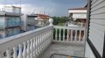 Duif op ons balkon, Paralia Dionysiou, Griekenland
