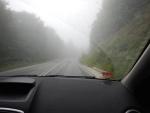Mist in het Pilion gebergte, Griekenland