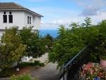 Uitzicht van ons appartement, Agios Dimitrios, Griekenland