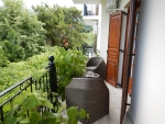 Ons balkon, Paradeisos Rooms, Griekenland