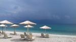 Het strand bij Agios Ioannis, Griekenland