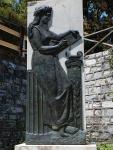 Vrijheidsmonument in Tsangarada, Griekenland