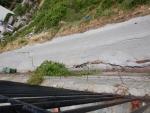 Nog meer aardbevingsschade, Zagoras, Griekenland