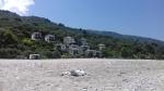Strand bij Chorefto, Griekenland