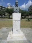 Monument voor een Griekse patriot, Theodorus Kolokotronis, Griekenland