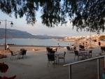 Bij de haven van Thessaloniki, Griekenland