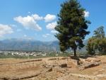 Zicht op het nieuwe Sparta, Griekenland