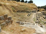 Het amfitheater in Sparta, Griekenland