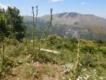 De Taigetos bergrug, Griekenland