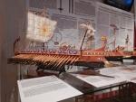Model van een Griekse trireme, Griekenland