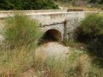 Een stenen brug op Kefalonië, Griekenland