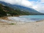 Strand bij Afrato, Kefalonië, Griekenland