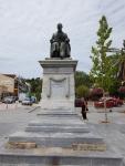 Monument in Argostoli, Kefalonië, Griekenland