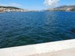 De baai van Argostoli, Griekenland