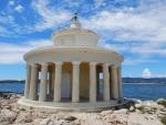 De lantaarn van St. Theodore (vuurtoren van Argostoli), Griekenland