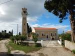 Kerk in Lakithra, Griekenland