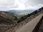 Uitzicht op het dal, centraal Kefalonië, Griekenland