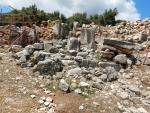 Ruïnes van oud Sami, Griekenland