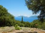 De kust bij Sami, Kefalonië, Griekenland