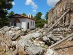 Ruïnes van de St. Nicolaas kerk, Griekenland