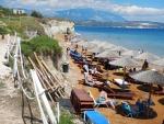 Xi strand, Kefalonië, Griekenland