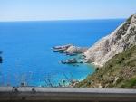 De zee bij Petani strand, Kefalonië, Griekenland