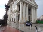 Ministerie van buitenlandse zaken, Skopje, Macedonie
