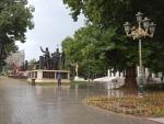Standbeeldengroepen in Skopje, Macedonie