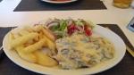 Kipschnitzel, Fiskardo, Griekenland