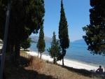 Strand bij Karavomylos, Griekenland