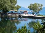 Karavomilis meer, Kefalonië, Griekenland