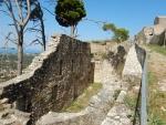 Het Venetiaans kasteel St. George, Kefalonië, Griekenland